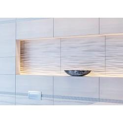 Alba серая светлая (рисунок) 169 071-1  23x60 плитка для стен Intercerama