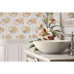 Arabesco белая  2360 131061 23x60 плитка для стен Intercerama