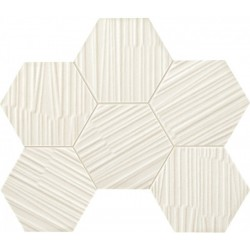 Mozaika Mareda white 22,1x28,9 мозаика для стен Tubadzin